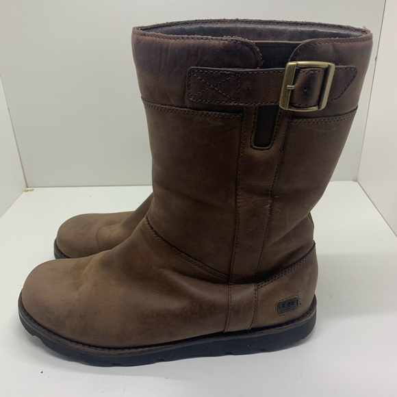 new concept to buy cheaper UGG MID CALF BOOTS LEATHER CODE BRITTON 3026 12